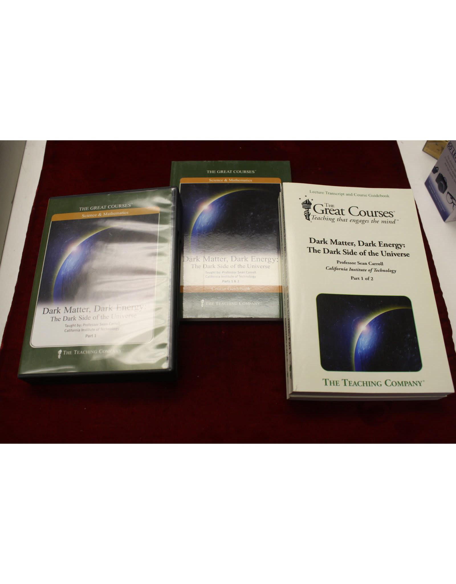Dark Matter, Dark Energy: The Dark Side of the Universe DVD Sean Carroll (Pre-owned)