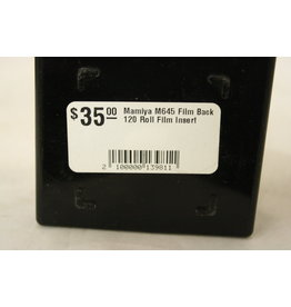 Mamiya M645 Film Back 120 Roll Film Insert