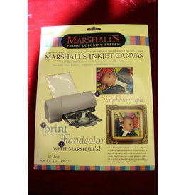 "Marshall's Inkjet Canvas 8.5 x 11"" Paper (10 sheets)"