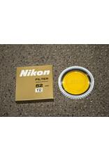 Nikon 52MM Original Y52 YELLOW FILTER IN CASE & GOLDEN COLOR BOX -MINT-