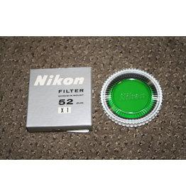 Nikon 52mm X1 Green Filter