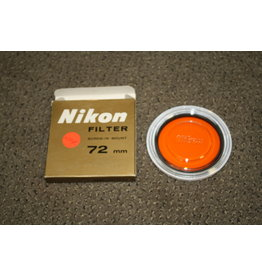 Nikon 72mm Orange (O56) Colour Filter for B&W Photography