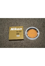 Nikon A12 52mm Screw Thread Orange filter From JAPAN Pre-Owned