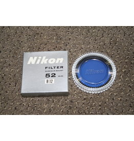 Nikon B12 52mm Filter w/ Case & Box