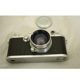 Leica IIIc w/ Summitar 50mm 5cm f2 CLA'd