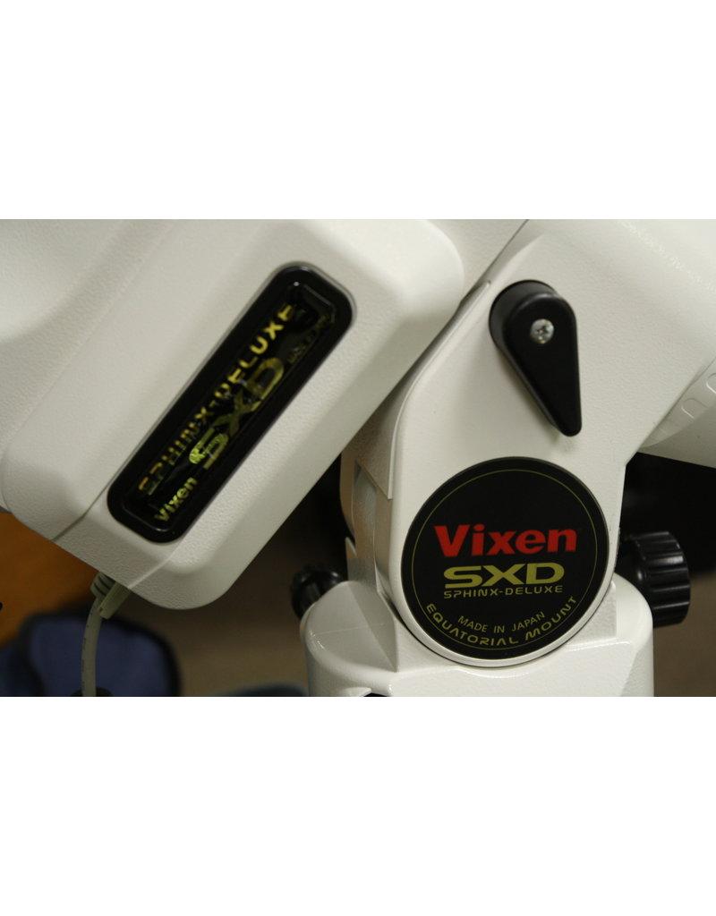 Vixen Vixen Sphinx SXD Equatorial Mount (Pre-owned) with cases, extra counterweight, PiggyBack bracket, flip mirror, two speed focuser