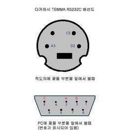Takahashi Takahashi RS232 cable for TEMMA/PC