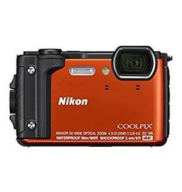 Nikon Nikon COOLPIX W300 Digital Camera (Orange, Black or Yellow)