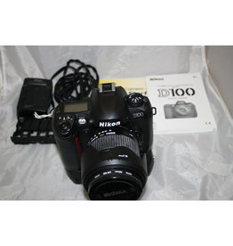 Nikon D100 6.1 MP Digital SLR Camera w/ Sigma 18-125mm lens and MB-D100 Battery Grip (Pre-owned)