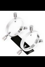 William Optics William Optics Slide-Base 50 mm Guiding Rings w/ Adjustment Screws - Silver - M-GR50SL