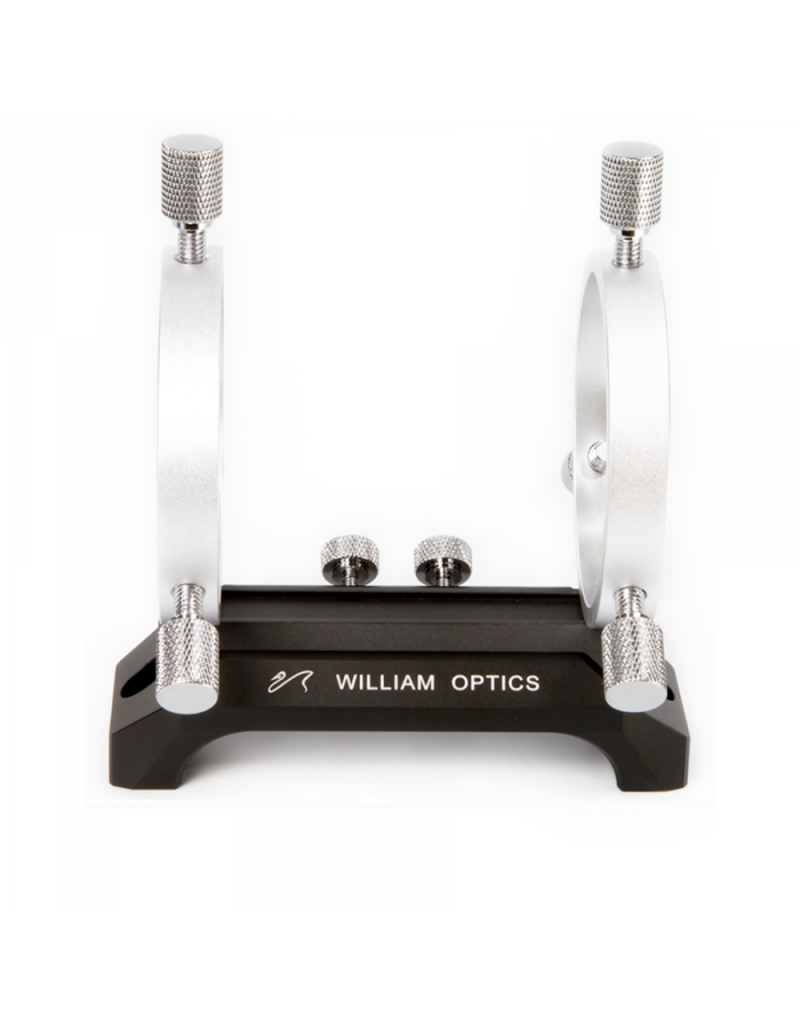 William Optics William Optics 120mm Saddle Handle & 50mm Silver Guiding Rings w/ Adjustment Screws - M-HC120BL-GR50SL