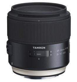 Tamron Tamron SP 35mm f1.8 Di VC USD w/hood (Specify Mount)