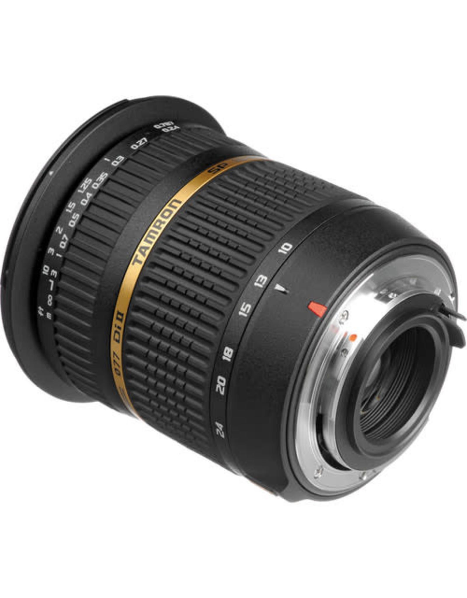 Tamron Tamron SP 10-24mm f3.5-4.5 Di-II LD Aspherical (IF) w/hood