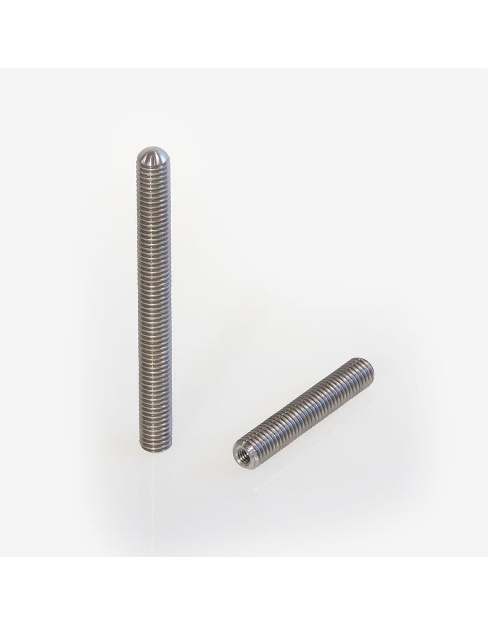 "ADM ADM Stainless Steel Threaded Rod. 3""  Long"