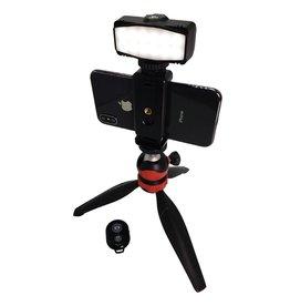 Gizmo Mini Tripod LED Traveler Kit for Smartphones and Digital Cameras