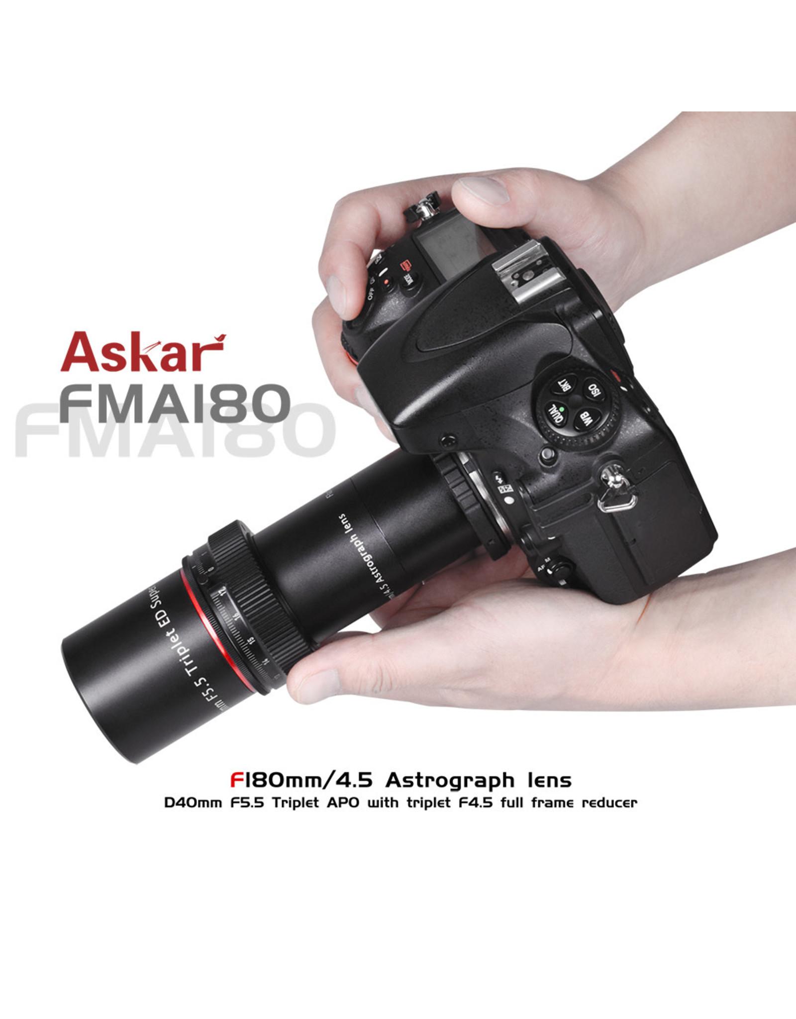 Askar Askar 40mm f/5.5 Triplet Apo Lens / Guidescope # FMA180