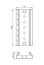 Askar Askar Multi-connection Finder plate for 72mm FRA400 Astrograph # MCFP