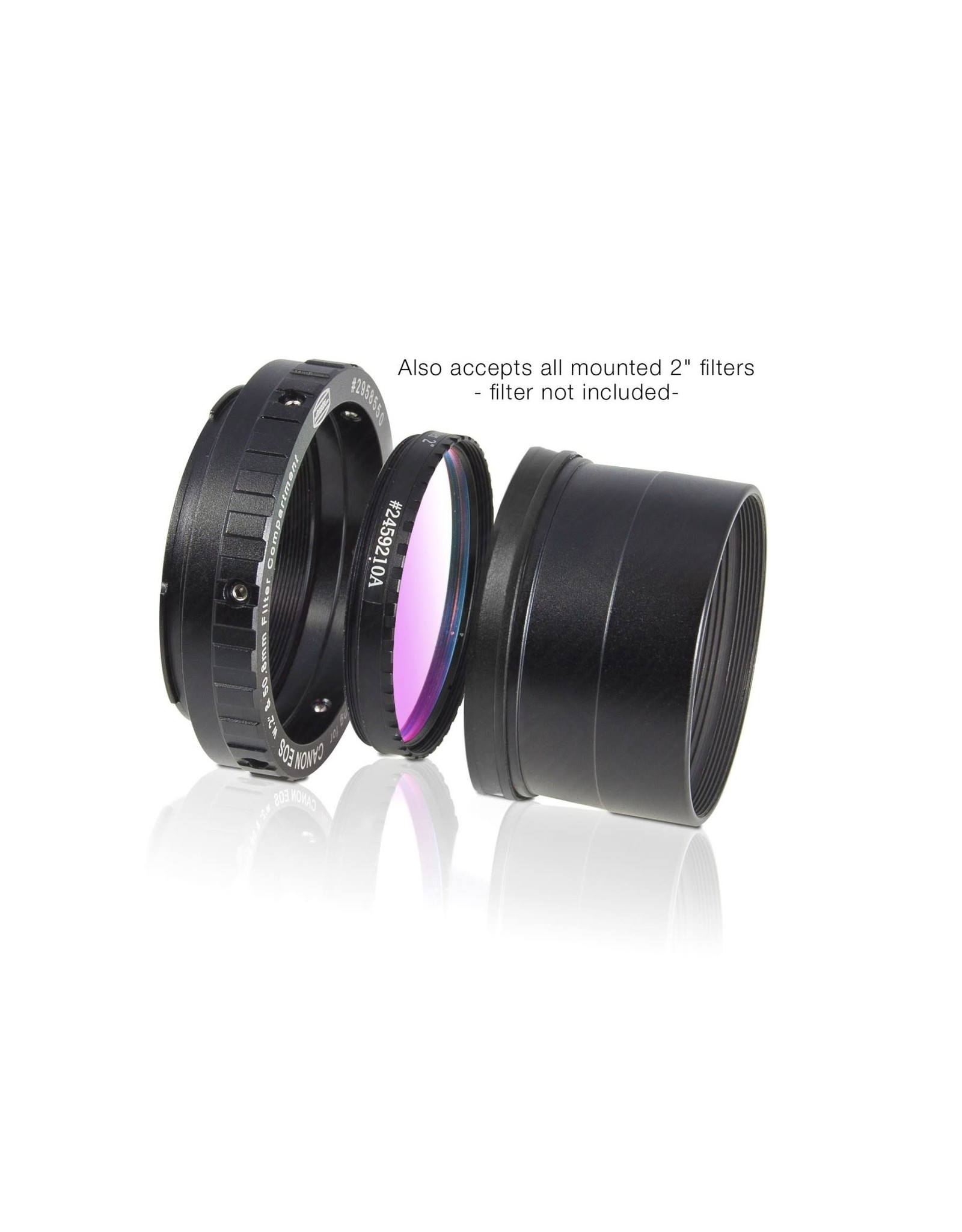 """Baader Planetarium Baader zero-tolerance protective Canon DSLR T-Ring T-2/M48 and 2"""""""