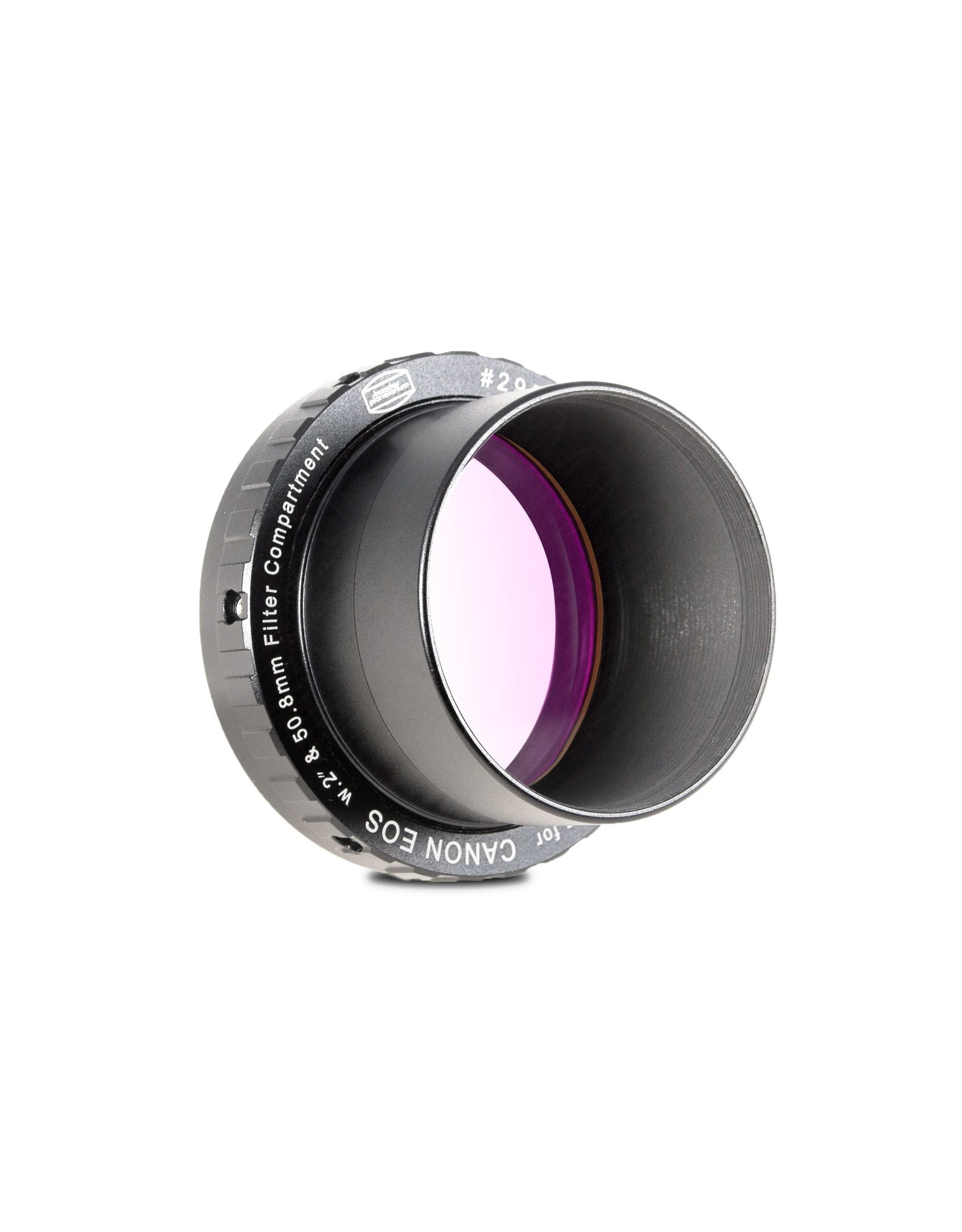 "Baader Planetarium Baader zero-tolerance protective Canon DSLR T-Ring T-2/M48 and 2"" w. clear glass filter (CLEAR FILTER)"