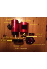 "Baader Planetarium Baader UFC S70 RASA 8"" Telescope-Adapter (optical height: 1.4 mm)"