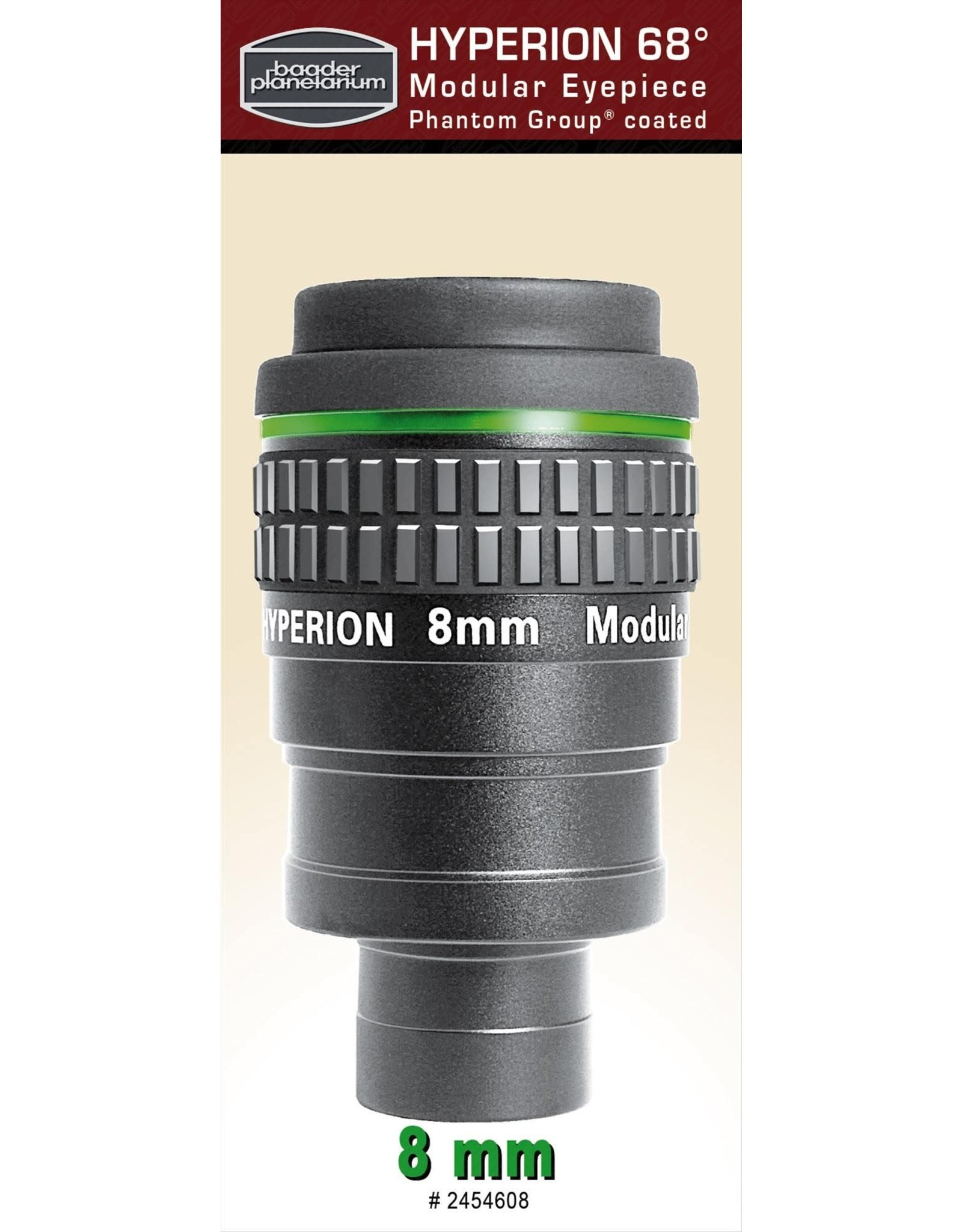 Baader Planetarium Baader Hyperion 68 Degree Modular Eyepiece 8mm