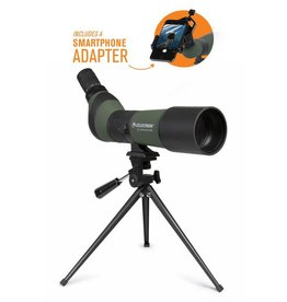Celestron LandScout 20-60x65mm Spotting Scope with Table-top Tripod and Smartphone Adapter