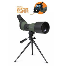 Celestron LandScout 20-60x80mm Spotting Scope with Table-top Tripod and Smartphone Adapter