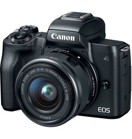Canon Canon EOS M50 Mirrorless Digital Camera with 15-45mm Lens (Black)