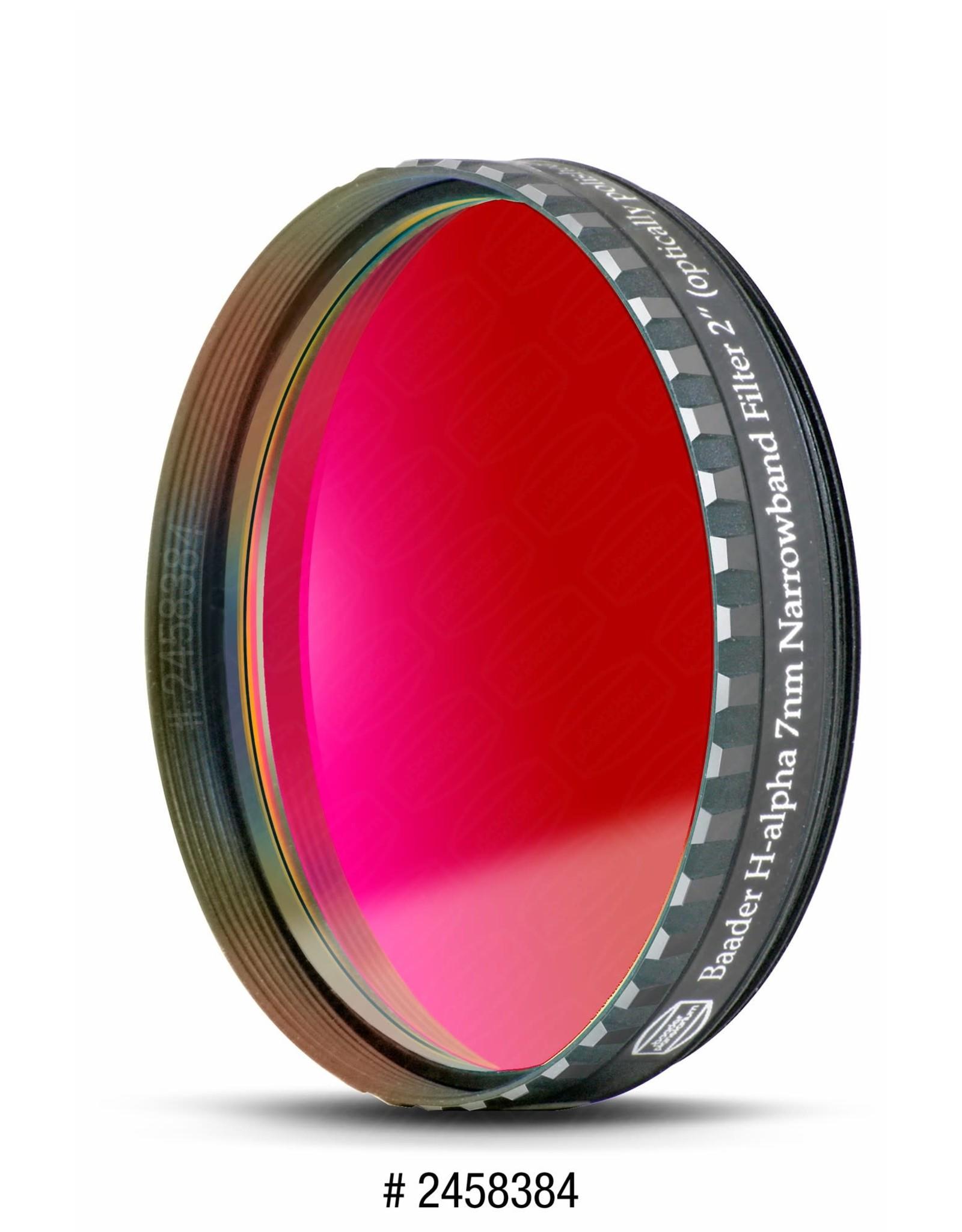 Baader Planetarium Baader Premium H-alpha 7nm CCD Narrowband-Filter (Specify Size)