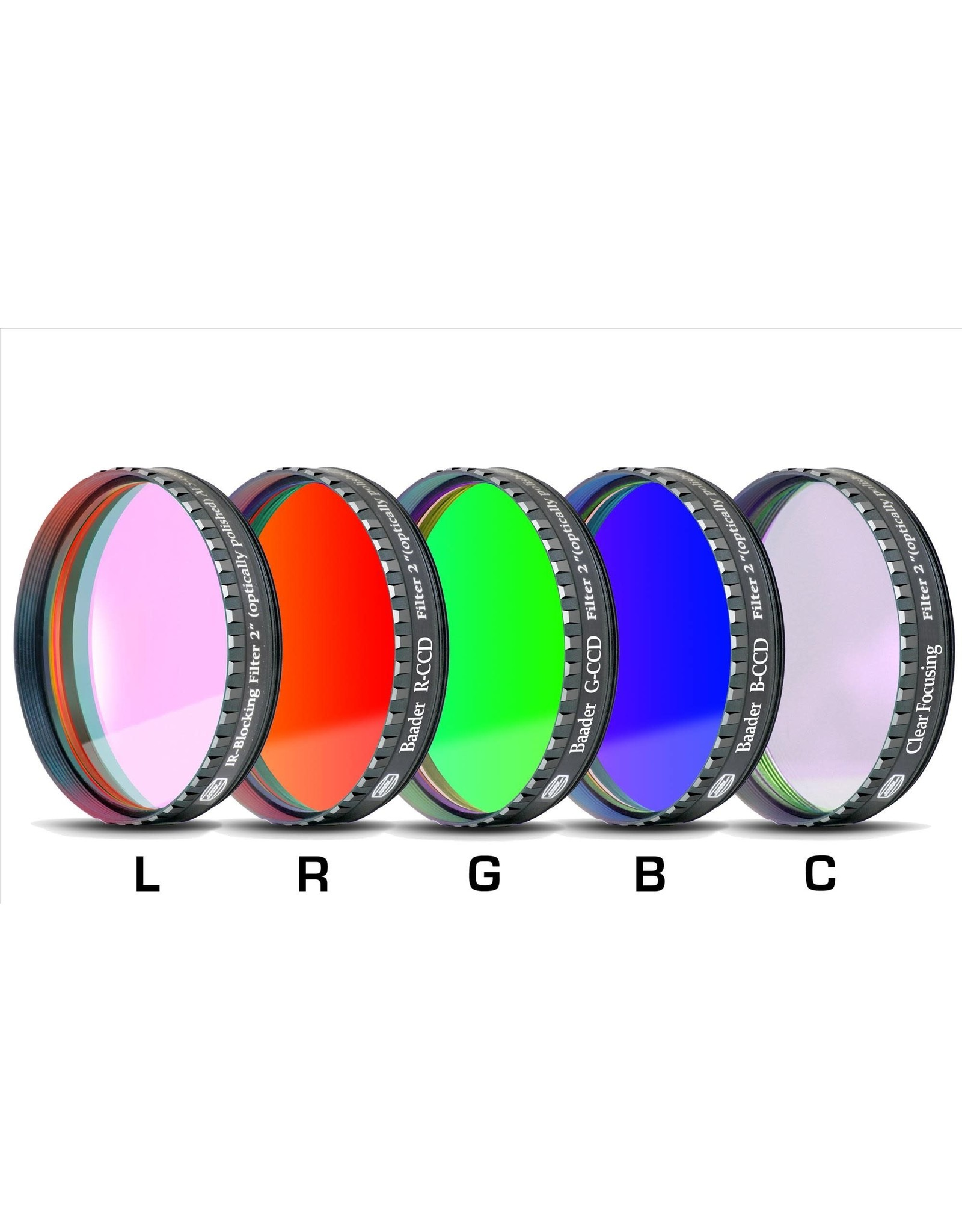 Baader Planetarium Baader L-RGB-C CCD-Filterset (Specify Size)