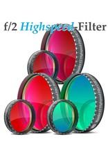 Baader Planetarium Baader f/2 Highspeed O-III Narrowband CCD Filter (Specify Size)