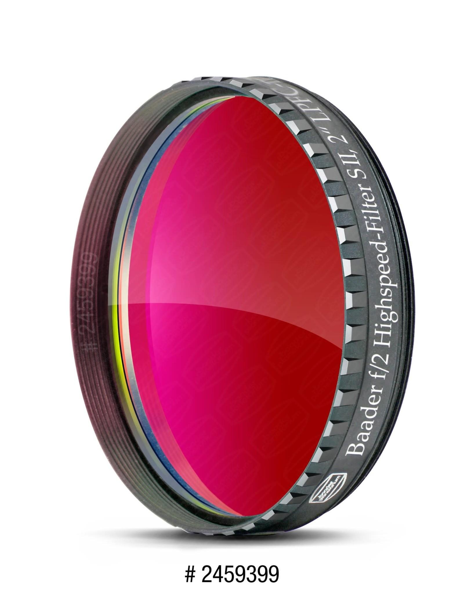Baader Planetarium Baader f/2 Highspeed-Filters/ SII (Specify Size)