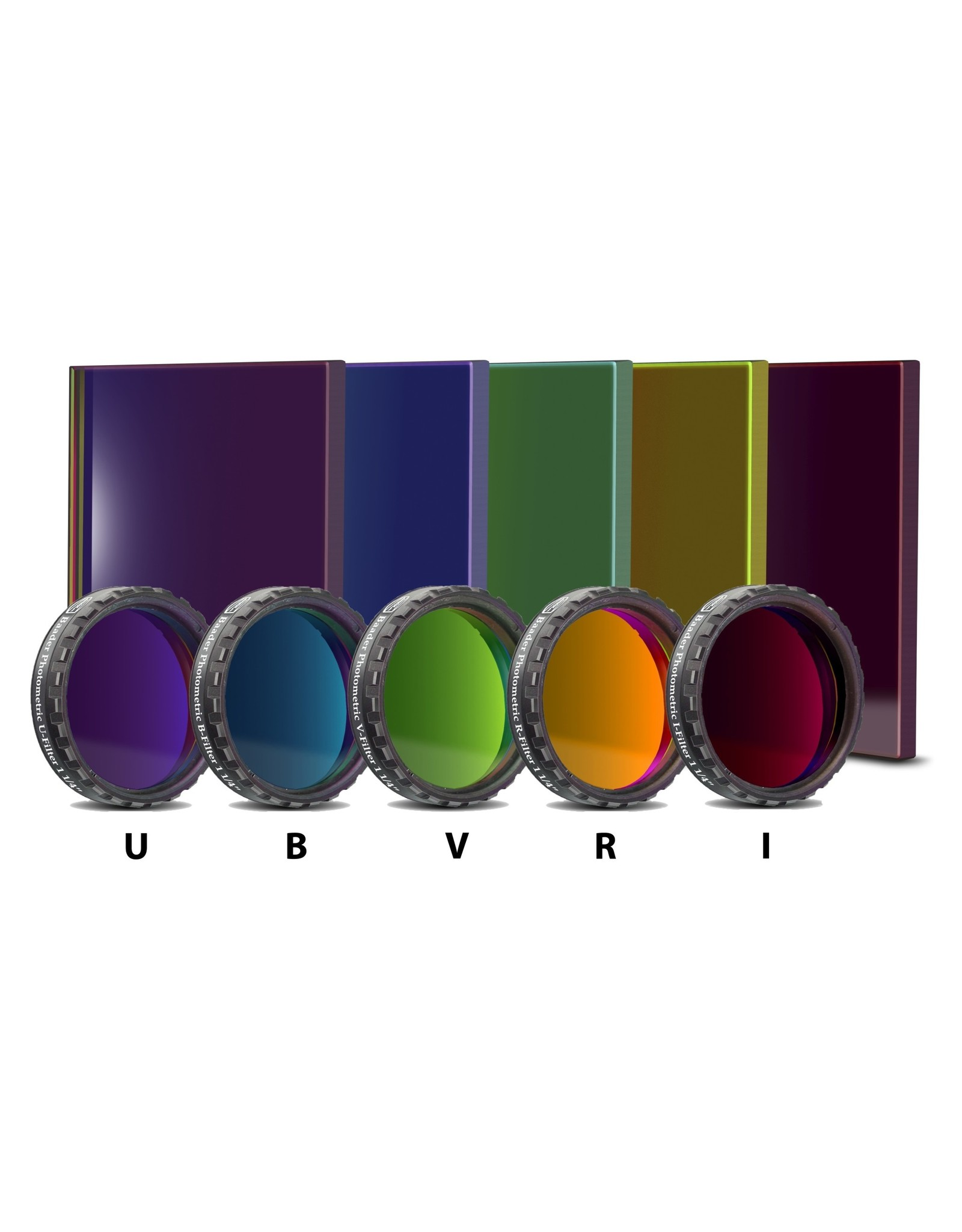 Baader Planetarium Baader UBVRI Photometric Johnson/Bessel Filter (Specify Size and Type)