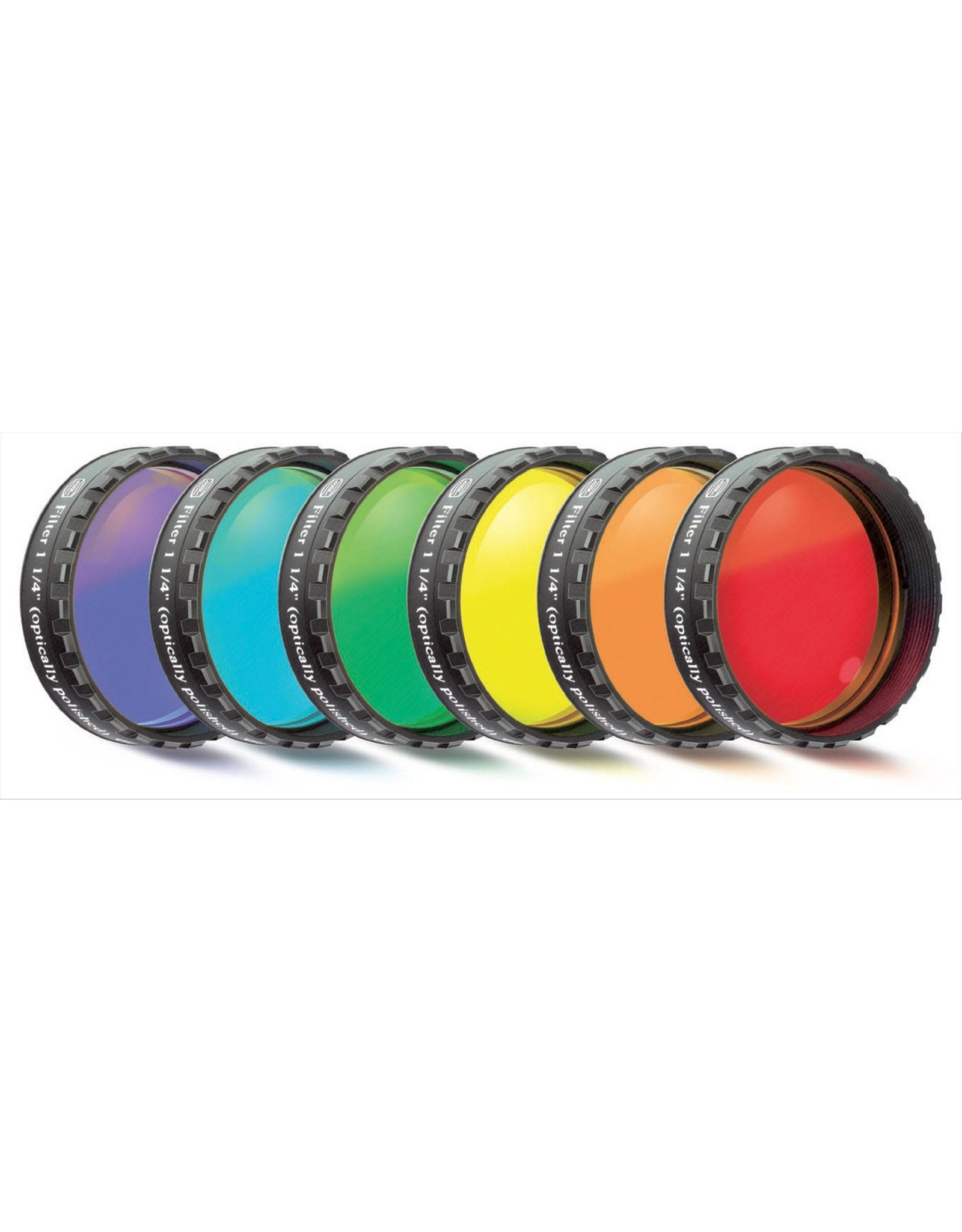 Baader Planetarium Baader Color Filter-Set Moon and Planetary (6 colors) (Specify Size)