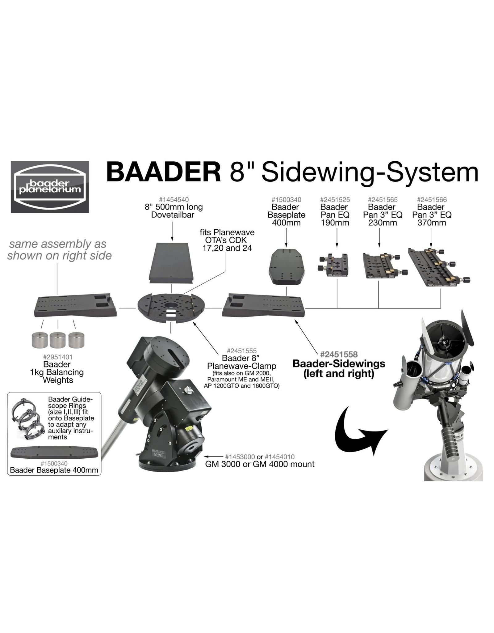 Baader Planetarium Baader Guidescope Rings BP III - 140-185mm