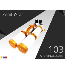 William Optics William Optics Zenithstar Pegasus 103mm FPL-53 APO Binoculars -  H-B103