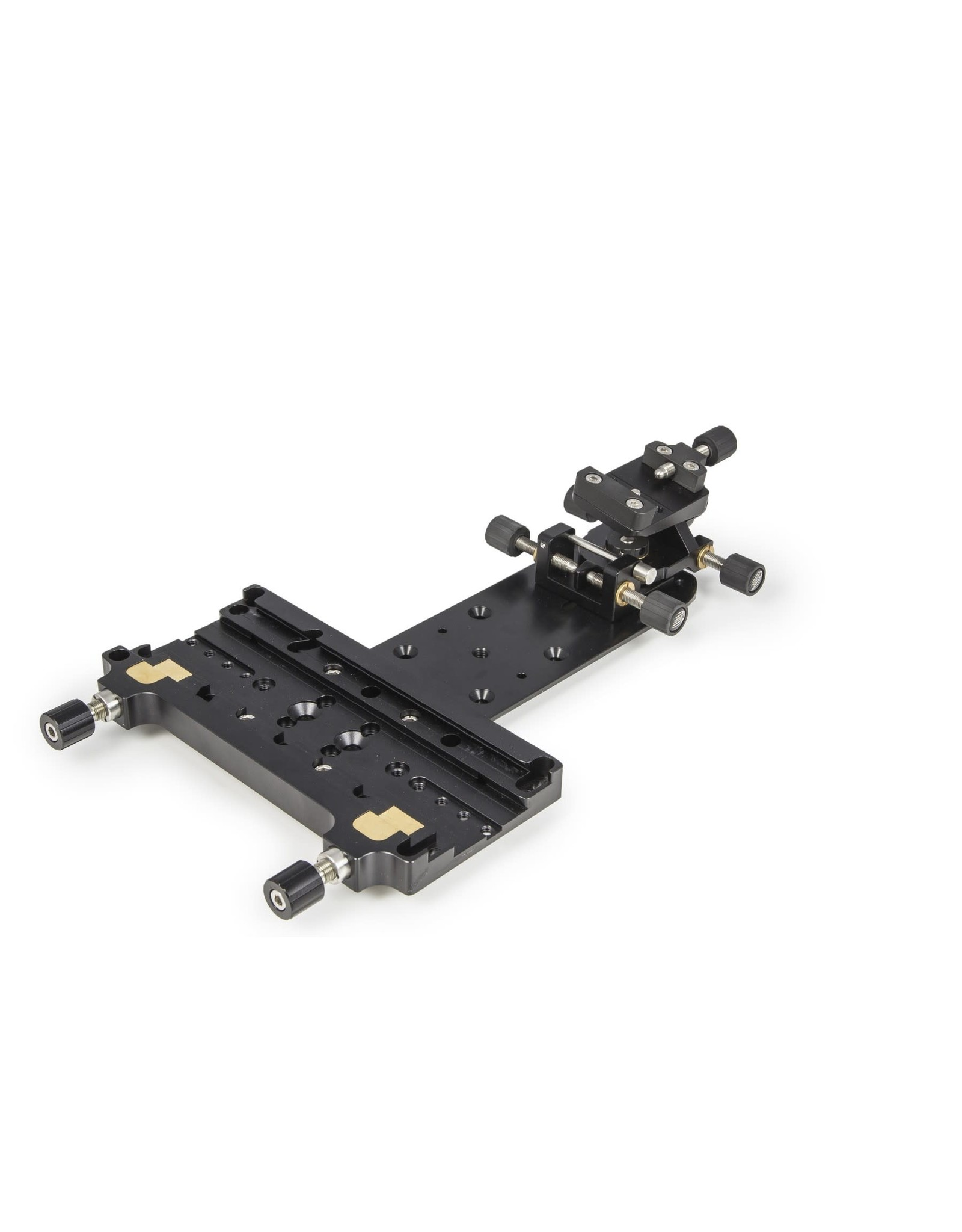 """Baader Planetarium Baader double mounting plate and holder for guidescope rings (I & II), 300mm with 3"""" dovetail"""