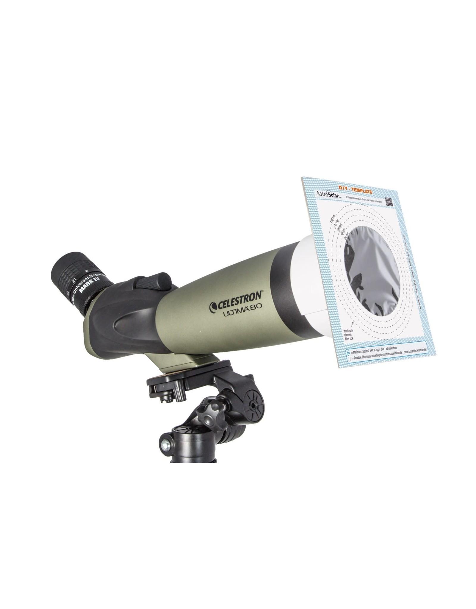 Baader Planetarium AstroSolar® Safety Film OD 5.0 (144 x 155 mm)