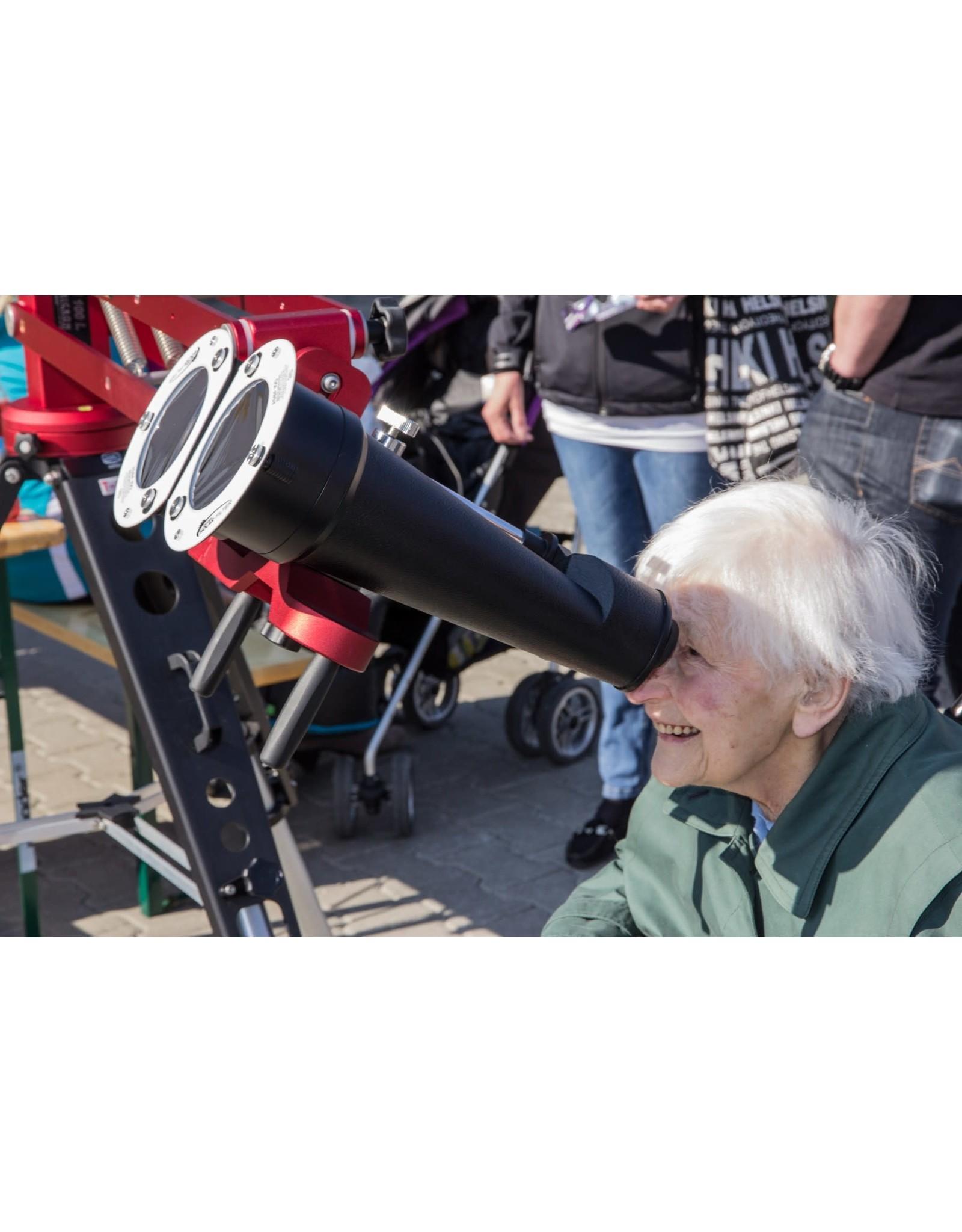 Baader Planetarium ASBF: AstroSolar Binocular Filter OD 5.0 (Specify Size)