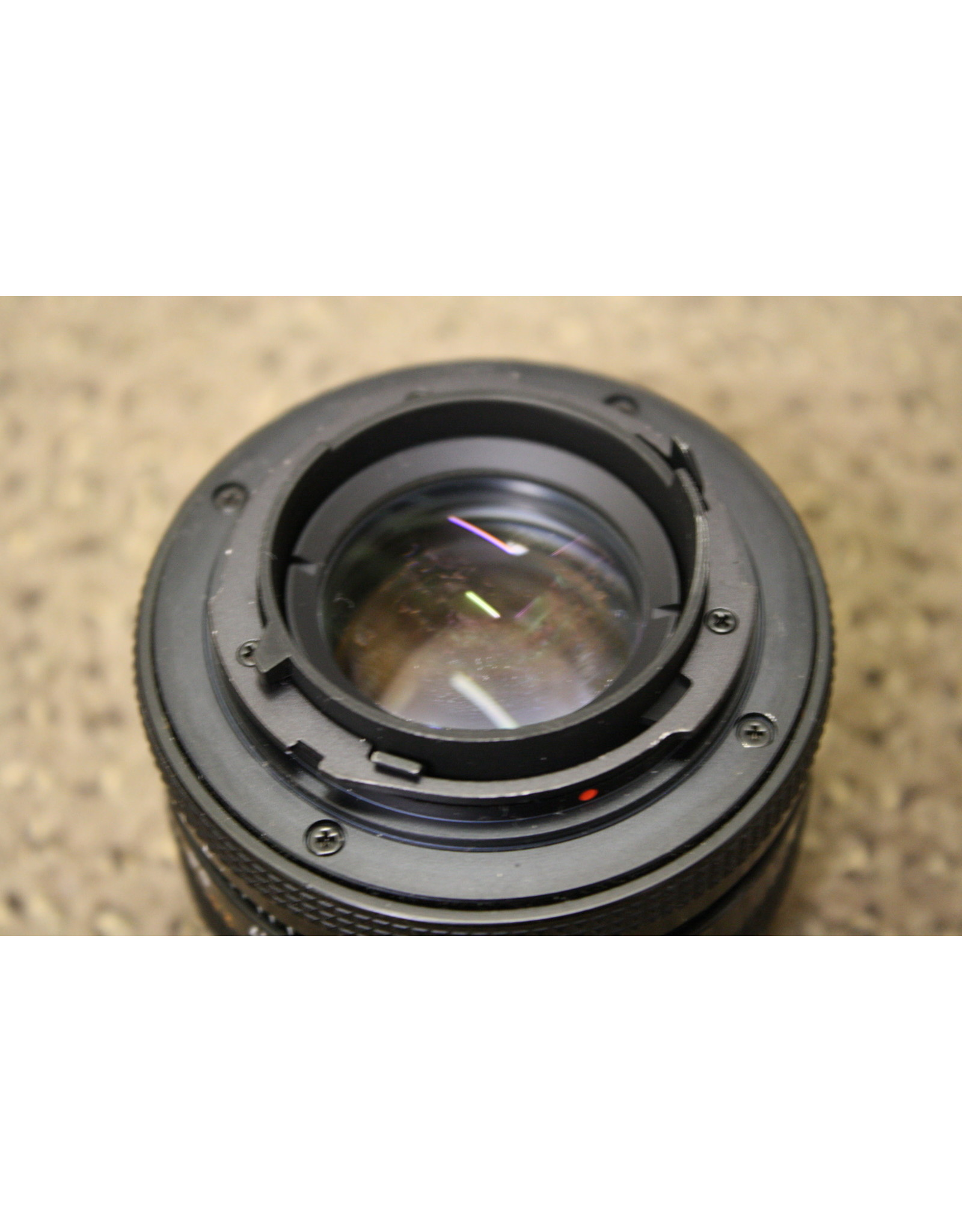 Carl Zeiss Planar 50mm 1.7 Red T Star with Hoya UV and Hood(Pre-owned)