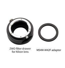 ZWO ZWO Filter Drawer for Nikon Lens
