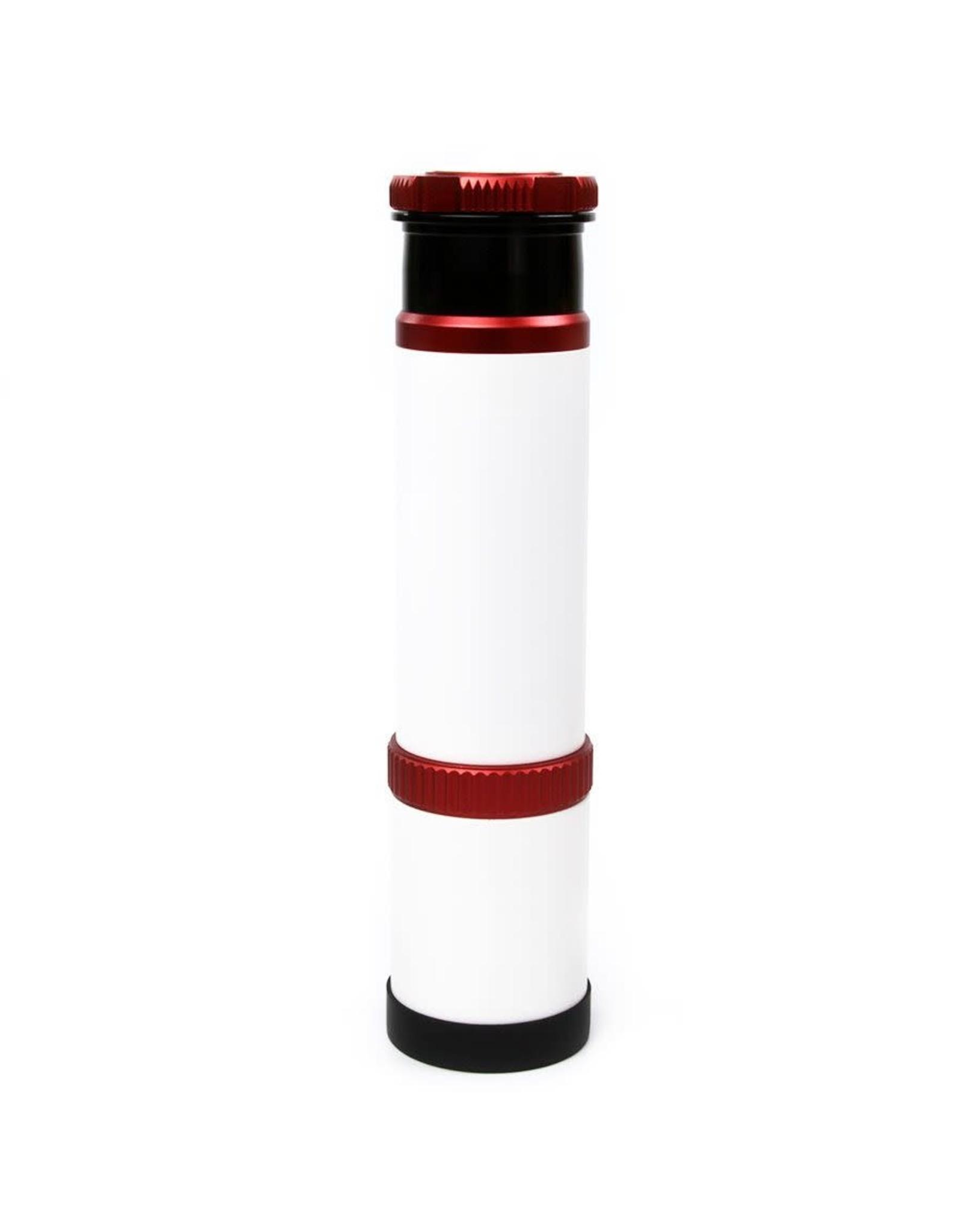 "William Optics William Optics VIII 50mm Guiding Scope with 1.25"" RotoLock - White/Red Accents- M-G50WRIII"