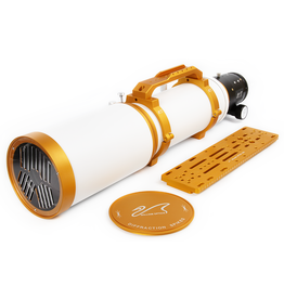 William Optics William Optics Fluorostar 132 f7 Gold with Innovative Bahtinov Mask Cover (Patented) (Specify Color)
