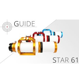 William Optics William Optics Guidestar 61 APO (Specify Blue, Gold or Red) with Carry Case