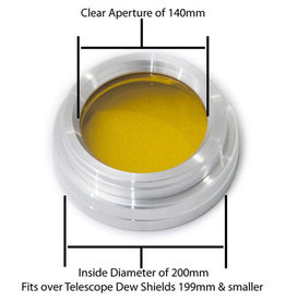 DayStar DayStar Filters 150mm-Aperture Energy Rejection Filter (Specify Cap Diameter)