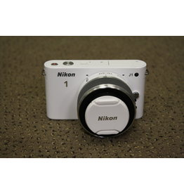 Nikon Nikon 1 J1 w/ 1 Nikkor 10-30mm and 1 Nikkor 30-110mm  (PRE-OWNED)