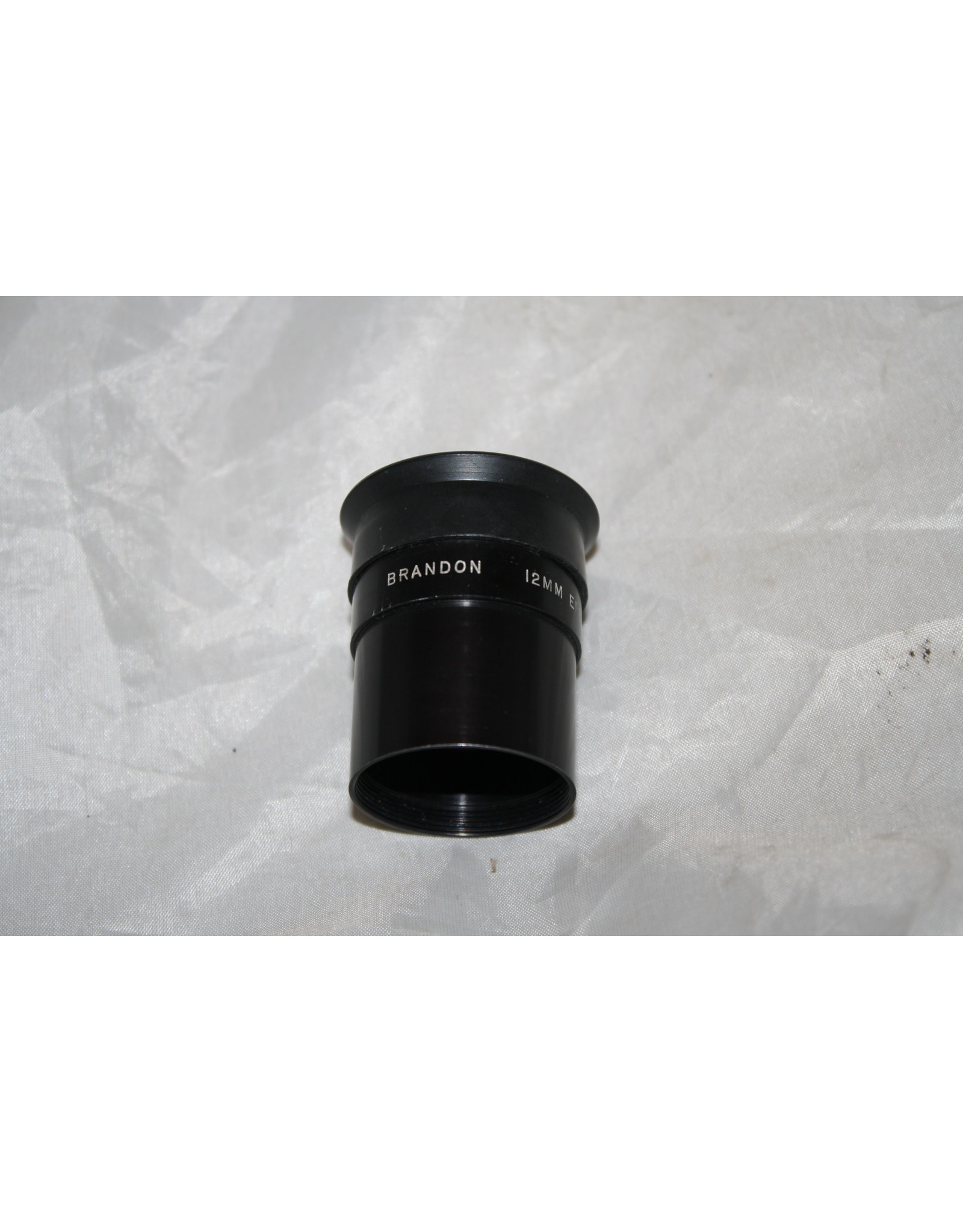 """Brandon 12mm 1.25"""" Vintage Ocular Vernonscope With Rubber Eyecup (Pre-owned)"""