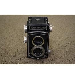 roLLEI Rollei Rolleicord III 120 Film TLR Camera w/ Schneider Kreuznach 75mm F3.5 Lens