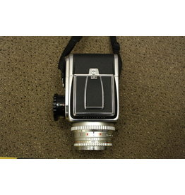 HASSELBLAD 500C/M CM 80mm 2.8 Zeiss Planar T* A12 BACK MEDIUM FORMAT Camera with Polaroid Back