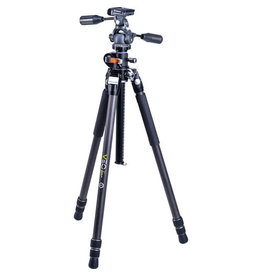Vanguard VEO3+263CP PROFESSIONAL CARBON FIBER TRIPOD WITH PANHEAD | OVERHEAD SHOOTING